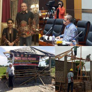 Bangun Pos Keamanan di Lombok Tengah, Sinergi Bersama Warga
