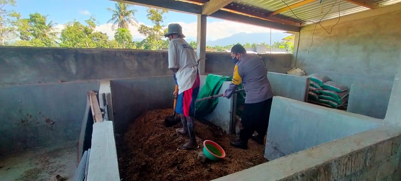 Kampung Sehat Gontoran Dukung Kampung Sehat 2 dengan Inovasi Biogas Kotoran Ternak