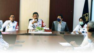 Kanwil Kemenkumham NTB Dalami Materi UU Cipta Kerja untuk Produk Hukum Daerah