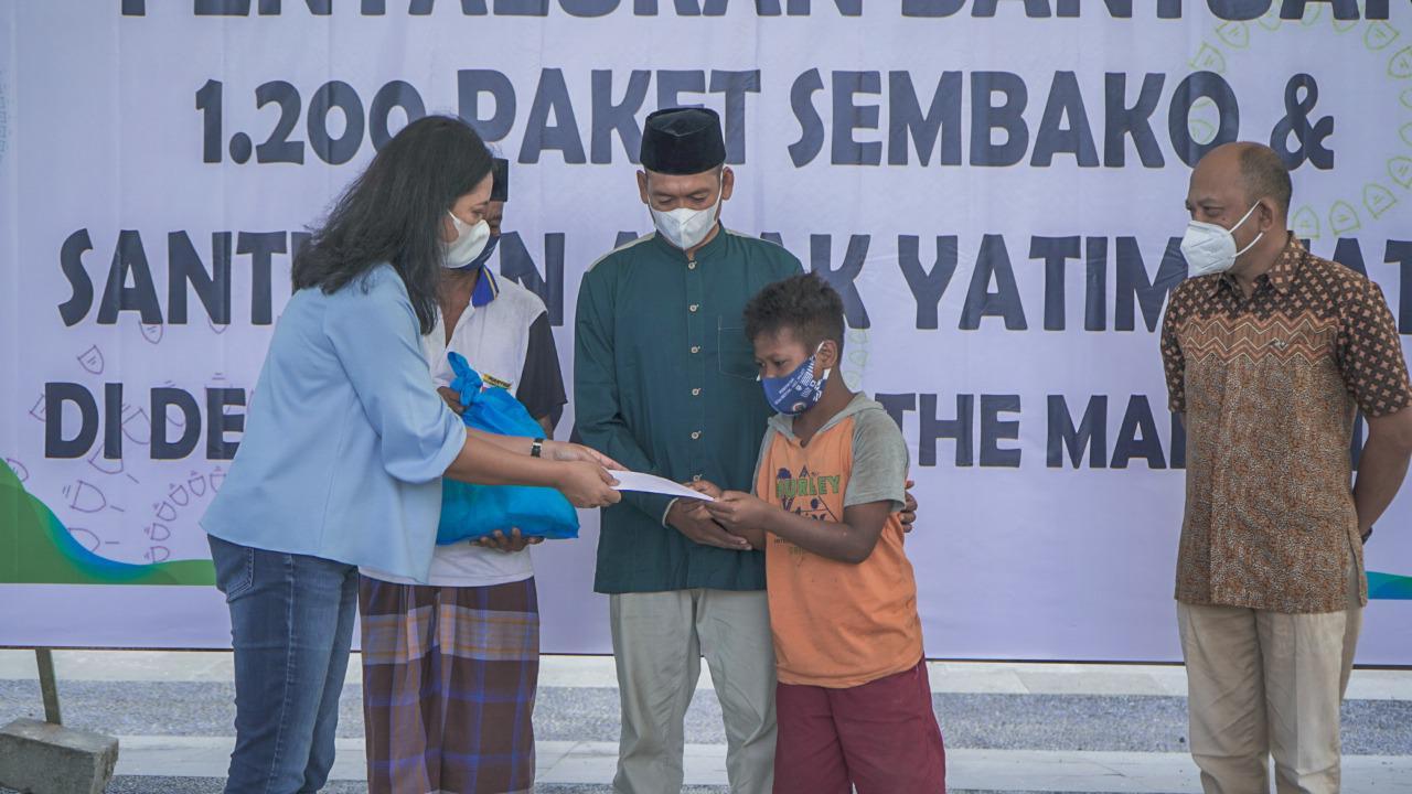 Sambut Idul Fitri ITDC Bagikan 1.200 Paket Sembako dan 600 Santunan Anak Yatim Piatu