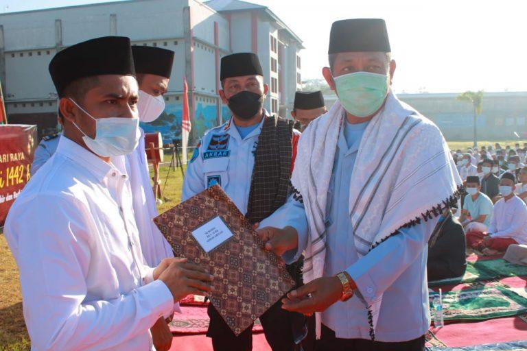Berkah Idul Fitri, Sebanyak 482 WBP Lapas Mataram Dapatkan Remisi