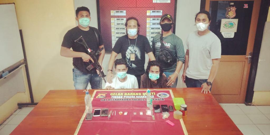 Dua Pengedar Sabu-sabu Asal Sape Ditangkap Polisi