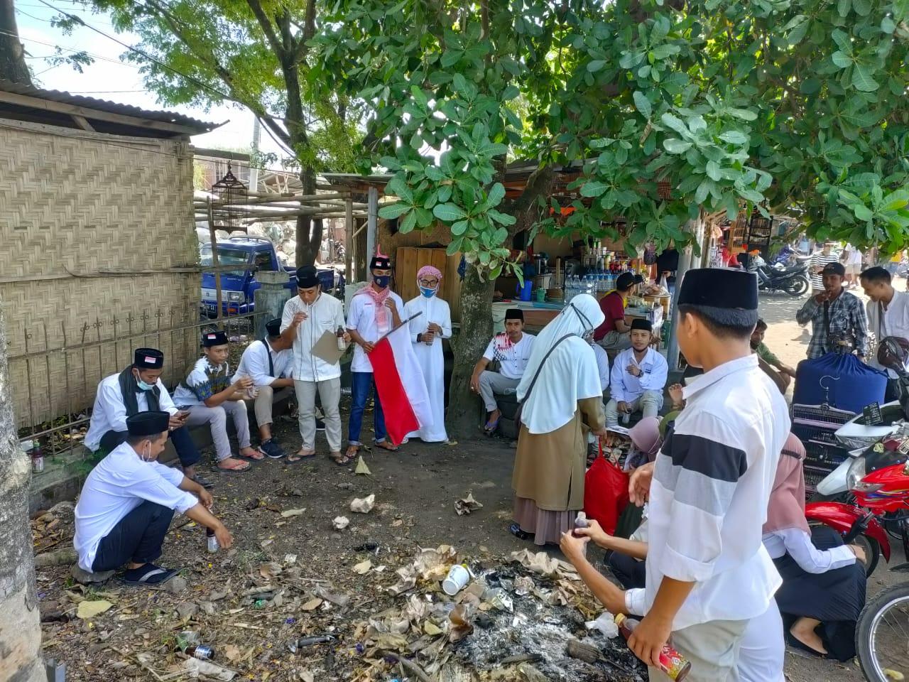 Jama'ah Masjid Nurul Huda desa Jago Galang Dana untuk Palestina