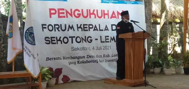 Forum Kades Sekotong-Lembar Akan Kerjasama dengan Perguruan Tinggi