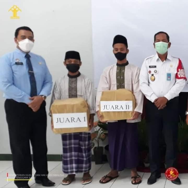 20 Anak Binaan LPKA Loteng Mendapat Remisi Khusus Hari Anak Nasional