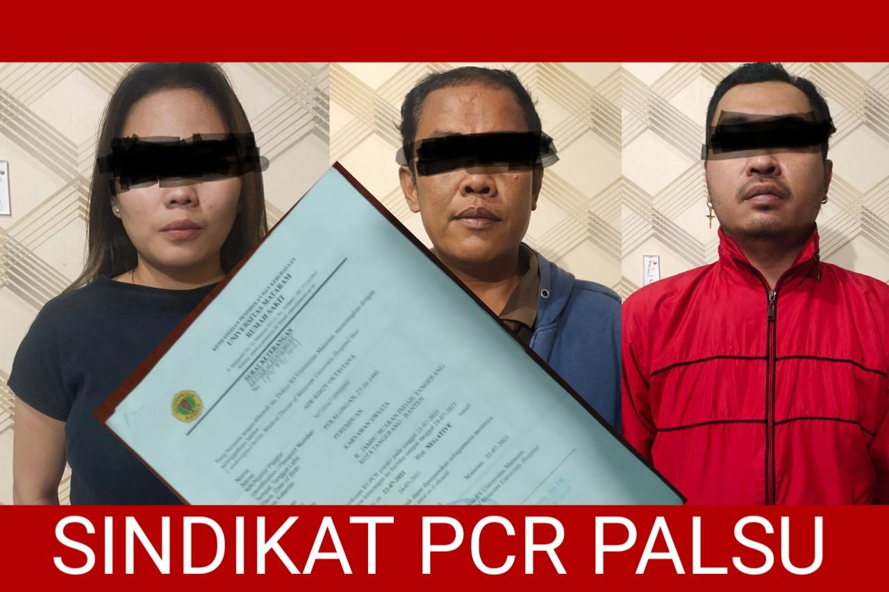 Sindikat PCR Palsu, Pakai Logo RS UNRAM !!!