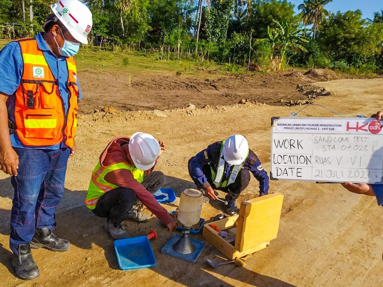 Realisasi Mandalika Urban Tourism And Infrastructure Project (MUTIP) Mulai Bergulir