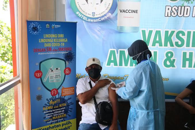 Daftar Vaksin Online Tanpa Antri di RSUD NTB, Berikut Linknya