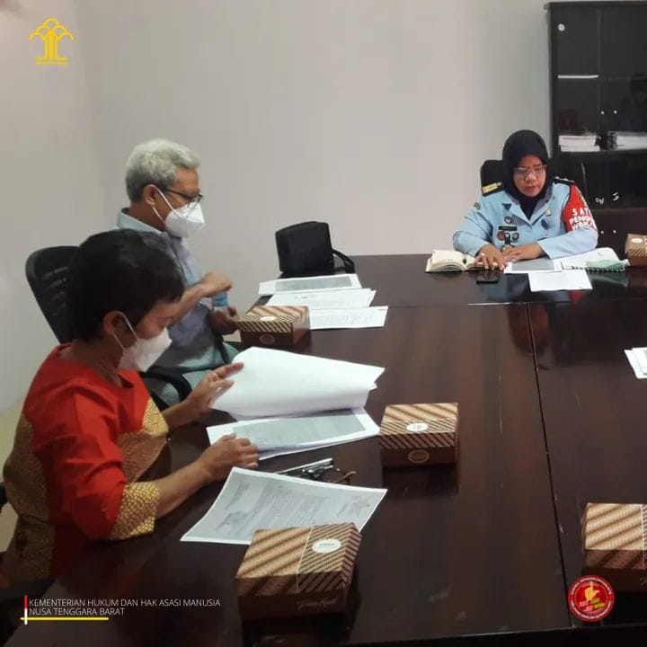 Kepala Divisi Pelayanan Kemenkumham NTB, Laksanakan Rapat Majelis Kehormatan Notaris Wilayah MKNW NTB