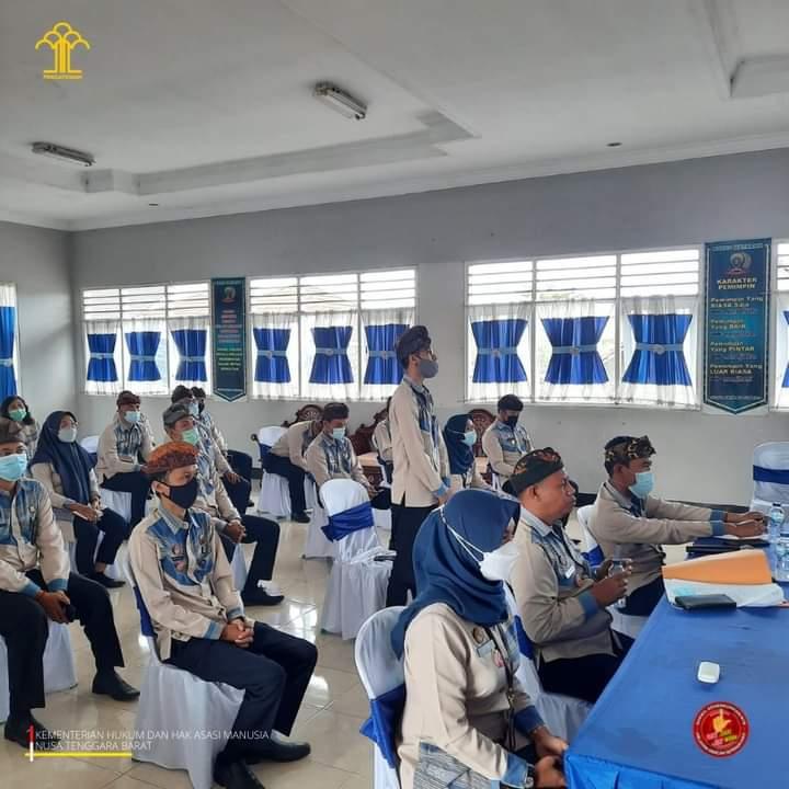 Kepala Kemenkumham NTB Berikan Simulasi Desk Menuju WBK di Bapas Mataram
