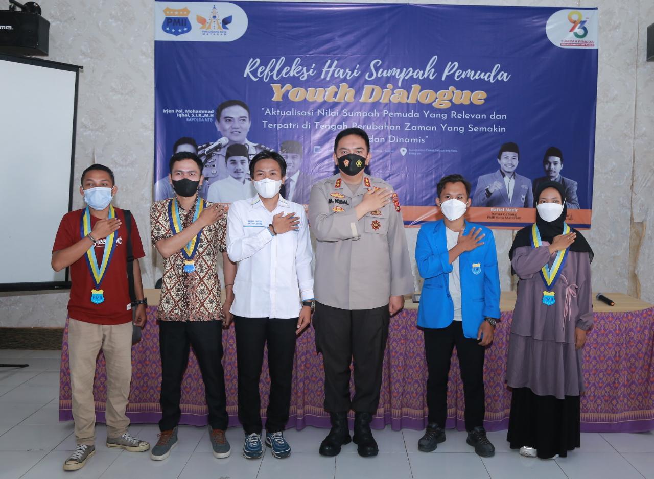 Refleksi Hari Sumpah Pemuda, PC PMII Kota Mataram Gelar Dialog Pulblik